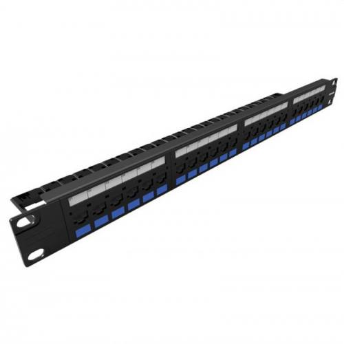 PATCH PANEL MULTILAN CAT5e 24P CARREGADO